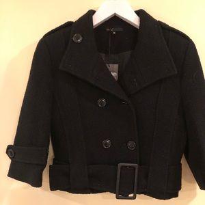 NWT Black Coat